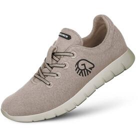 Giesswein Merino Wool Chaussures de running Femme, beige